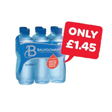 Ballygowan Still Water 500ml | 6 Pack