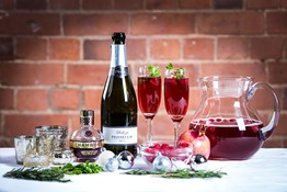 Christmas Prosecco Cocktail Recipe