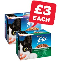 Felix Cat Food | 12 Pack
