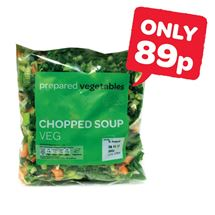 prepared Chopped Soup Vegetables | 350g