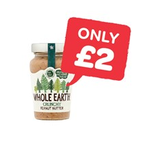 Whole Earth Peanut Butter | 340g