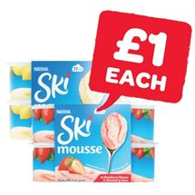 Ski Strawberry / Lemon Mousse | 4 Pack