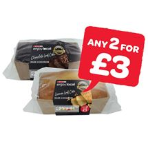 SPAR enjoy local Chocolate / Lemon Drizzle / Madeira Loaf Cake | 225g