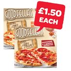£1.50 | Goodfellas Extra Thin Mozzerella / Pepperoni | 319/328g