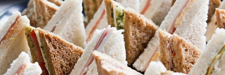 Assortment of Sandwich Triangles