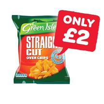 Green Isle Straight Cut Oven Fries | 1.5Kg