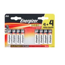 Energizer Max 4 + 4 Free | 8 Pack