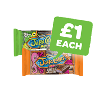 McVities Freaky Orange / Lemon & Slime Cake Bars | 5 Pack