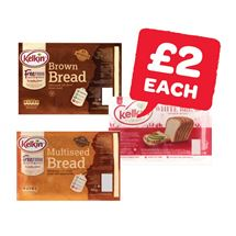 Kelkin White / Brown / Multiseed Bread | 400g