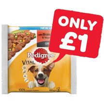 Pedigree Dog Pouches | 300g