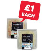 SPAR enjoy local Coleslaw / Reduced Fat Coleslaw / Potato Salad | 250g