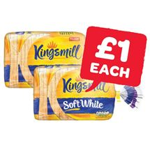 Kingsmill Soft White Medium / Thick | 800g