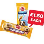 £1.50 | Pedigree Jumbone / Dentastix | 180/200g