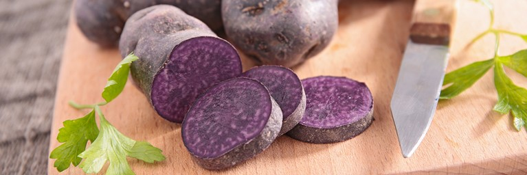 Healthy Foods To Snack On – Purple Potatoes