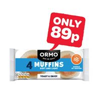 Ormo Muffins | 4 Pack