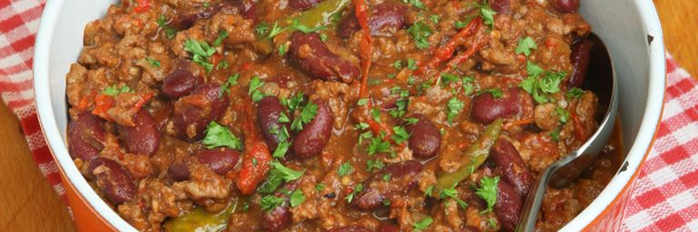 mouth-watering slow cooker chilli