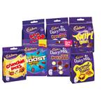 Only £1, Cadbury Chocolate Pouch Varieties, 108-120g