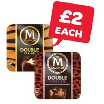 Magnum Double Caramel / Double Chocolate / Vegan Classic | 3 Pack