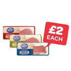 Only £2 | Denny Thick Cut Traditional / Hickory / Maple Back Bacon | 240g