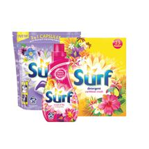 Surf Powder 23 Wash / Capsules / Liquid 25 Wash | 1.61Kg/20