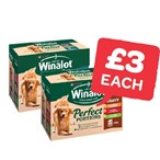 Only £3 | Winalot Perfect Portion CIJ 100g | 12 Pack
