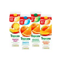 Tropicana Original Orange / Smooth Orange / Orange & Mango / Tropical Juice | 850ml