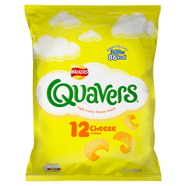 Walkers Quavers Cheese   | 12pk