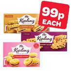 99p | Mr Kipling Country Slices / Almond Slices / Viennese Whirls | 6 Pack