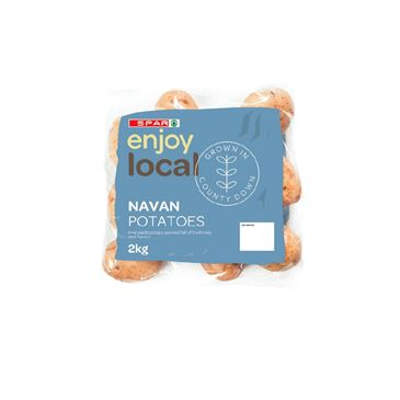 SPAR enjoy local Navan Potatoes | 2Kg