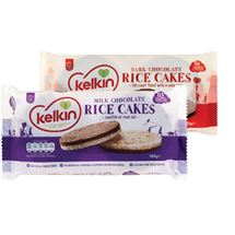 Kelkin Milk / Dark Chocolate Rice Cakes | 100g