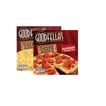 Goodfellas Deep Pepperoni / Cajun Chicken / Cheese / Bacon & Mushroom | 419/407/417/430g