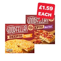Goodfellas Deep Pan Pizza | 415/421/438/439g