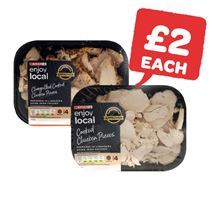 SPAR enjoy local Cooked Chicken Slices / Chargrilled Chicken Pieces / Cooked Chicken Pieces | 200g