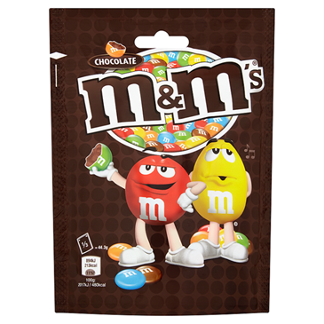 M&M Chocolate Pouch, 133g
