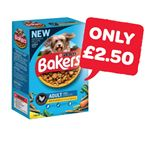 £2.50 | Bakers Complete Dog Food | 1.2Kg