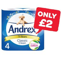 Andrex | 4 Roll