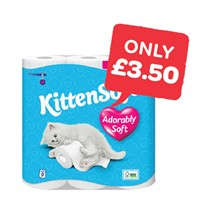 Kittensoft Toilet Roll | 9 Roll