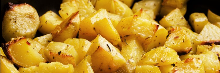 Tasty Vegetarian Christmas Recipe for Roast Potatoes