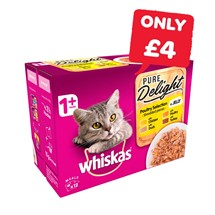 Whiskas Pure Delights | 12 Pack