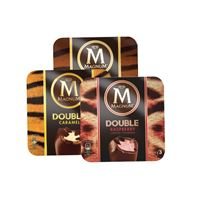 Magnum Double Caramel / Chocolate / Coconut / Raspberry / Praline | 3