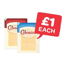 Coleraine Mild / Medium Cheese Slices | 160g