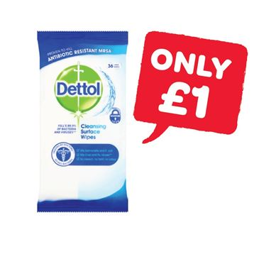 Dettol Surface Wipes | 36