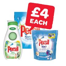 Persil Powder 23 Wash / Liquid 24 Wash / Capsules 19 Wash | 1.5Kg/840ml/19