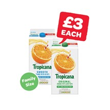 Tropicana Orange Orignal / Smooth | 1.6 Litre