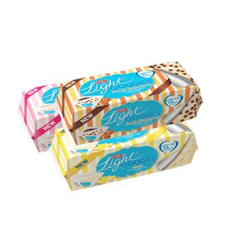 Mullerlight Goodies Lemon Meringue / Toffee Choc / Strawberry & White Choc 107g | 4 Pack