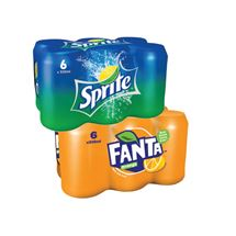 Fanta / Sprite 330ml | 6 Pack
