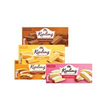 Mr Kipling Lemon / Chocolate / Carrot / Angel Cake Slices | 6 Pack