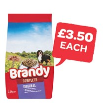 Brandy Dog Food | 2.5 Kg