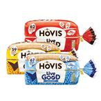 Only £1 | Hovis Live Good White / Wholemeal / Granary | 525g