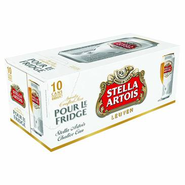 Stella Artois,10x440ml Can Pack